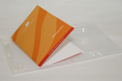 Umschlag für DVD-Box 4/0